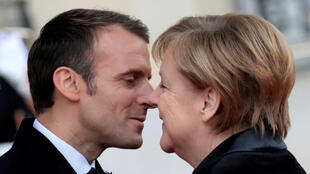 FRANCE-GERMANY-MACRON-MERKEL