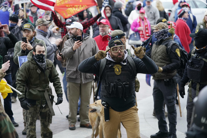 Manifestants pro-Trump assaut Capitole 6 janvier 2021