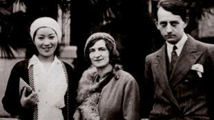 Clara và André Malraux trong hành trình về phương Đông, 1930