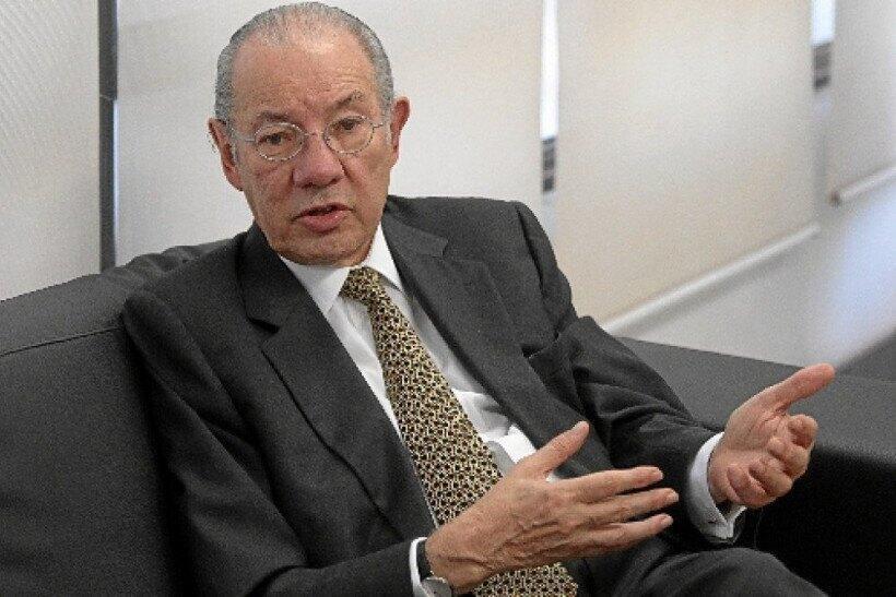 Rubens Barbosa, presidente do Instituto de Relações Internacionais e Comércio Exterior (Irice)