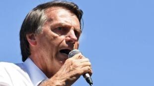 Según las encuestas, Jair Bolsonaro está asegurado de pasar a la segunda vuelta.