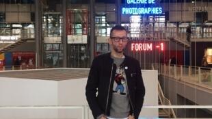 O realizador português João Pedro Rodrigues no Centro Pompidou