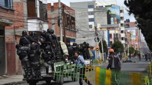 El Alto sous tension, le 11 novembre 2019.