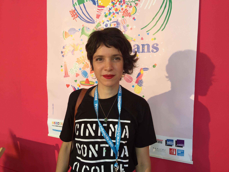 Ana Siqueira, diretora assistente do filme A Cidade Onde Envelheço, em competição no 25° Festival América Latina de Biarritz