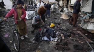 Attentat à la bombe à Quetta, au Pakistan, 10 janvier 2013
