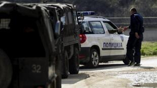Nổ súng tại biên giới Kosovo-Macedonia. Ảnh minh họa.