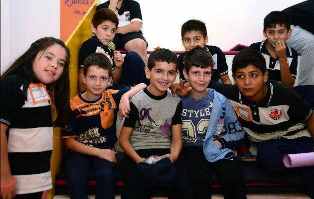 Siete de los estudiantes de la escuela Corazón Victoria, en San Luis, son refugiados sirios.