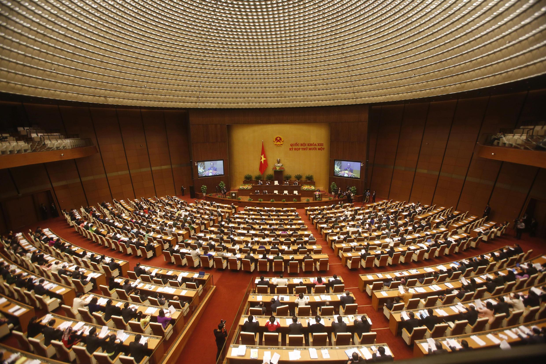 Toàn cảnh phiên khai mạc kỳ họp cuối cùng khóa 13 Quốc Hội Việt Nam, ngày 21/03/2016 tại Hà Nội.