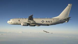 """美军P-8A""""海神""""侦察机资料图片"""