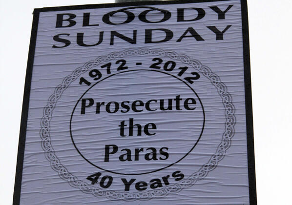 The British government admitted in June 2010 that the 14 civilians killed by the paratroopers on 30 January 1972 were innocent. None of the British soldiers were prosecuted.