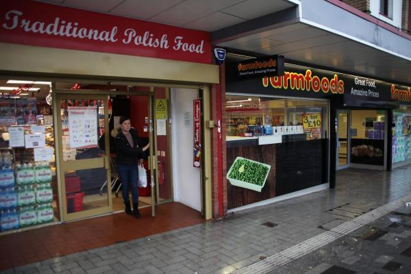 2019-10-12 Polish supermarket in West Bromwich East