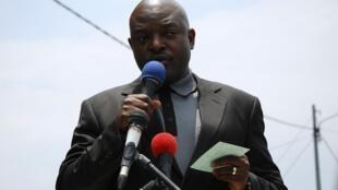 Rais wa Burundi, Pierre Nkurunziza.