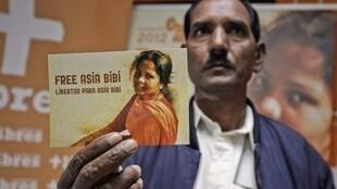 آسیه بی بی یک زن مسیحی پاکستانی است که در مدت هشت سال منتظر اجرای حکم اعدام بود.