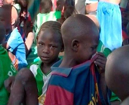 Enfants au Tchad.