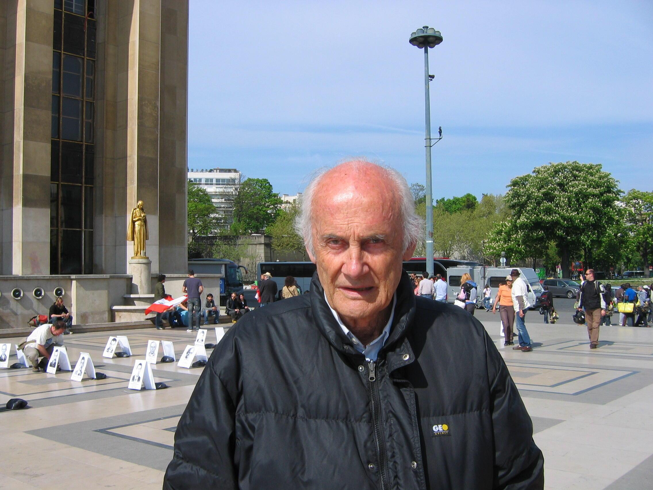 Владимир Чертков, швейцарский журналист-документалист, один из основателей ассоциации «Дети Чернобыля: Беларусь»