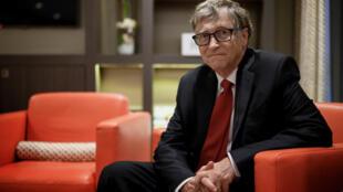 El cofundador de Microsoft Bill Gates en una fotografía de octubre de 2019