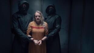 Elisabeth Moss dans la saison 4 de «La Servante Écarlate » sur la chaîne OCS.  © Hulu