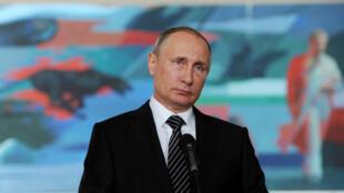 Vladimir Putin, chefe de Estado da Rússia