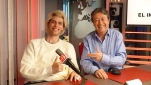 Rodrigo Reinoso y Jordi Batallé en RFI