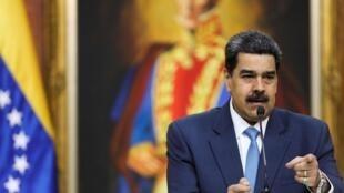 La justice américaine accuse Nicolas Maduro de s'être allié avec la guérilla colombienne des FARC pour, «inonder les États-Unis de cocaïne».
