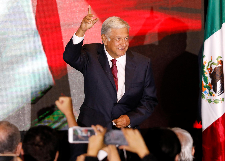 """ Andres Manuel Lopez Obrador"" رئیس جمهوری جدید مکزیک."