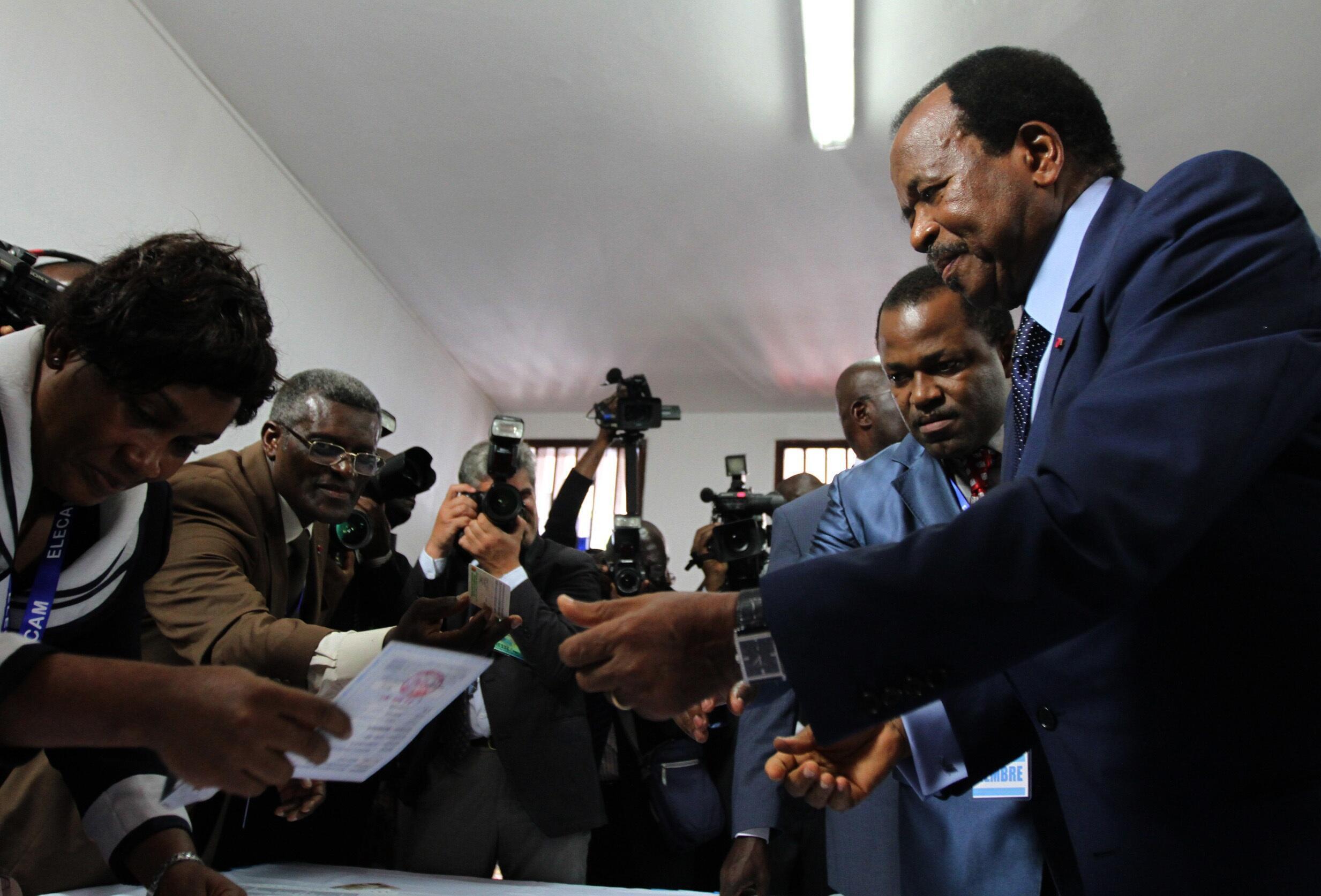 Shugaban Kamaru, Paul Biya lashe zaben don jagorancin kasar a karo na bakwai