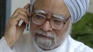 Manmohan Singh, Premier ministre indien, à New Delhi, le 17 mai 2004.