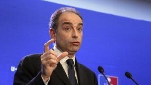 Jean-François Copé, novo presidente do partido de direita francês UMP.