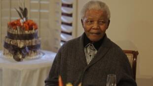 Tshohon shugaban Afirka ta Kudu, Nelson Mandela