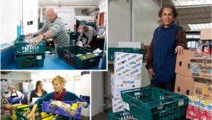 Fareshare récupère et distribue les aliments que les supermarchés renoncent à vendre.