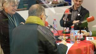 Hervé Guyomard, Laurent Pinatel et Xavier Beulin.