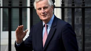 Michel Barnier米歇尔·巴尼尔欧盟与英国脱欧的谈谈首席代表。2017年4月26日
