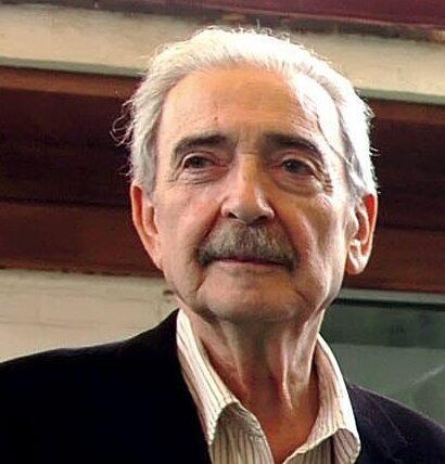 El escritor, poeta y periodista argentino Juan Gelman.