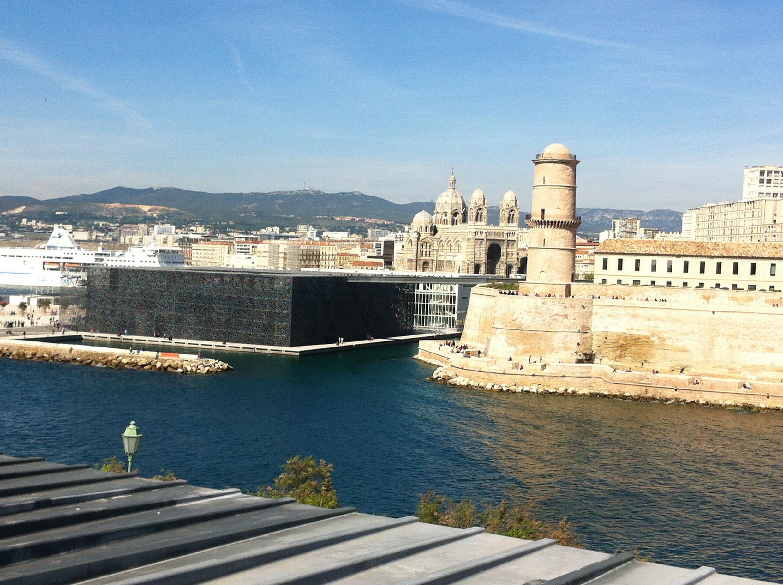The Mediterranean cultures museum, Mucem, on Marseille's old port