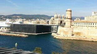 The Mediterranean cultures museum, Mucem, on Marseille's old port