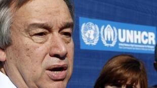 Antonio Guterres, antigo Alto Comissário das Nações Unidas para os refugiados (ACNUR).