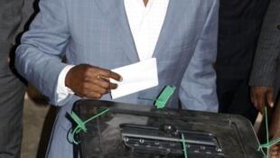 Le président togolais Faure Gnassingbé, le 4 mars 2010.