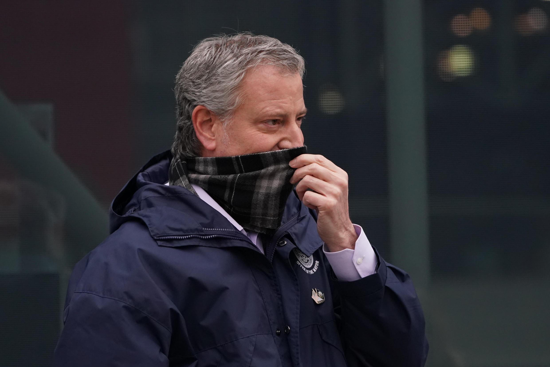 بیل دی بلازیو، شهردار نیویورک.