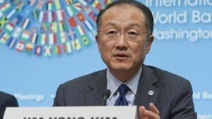 Word Bank president Jim Yong Kim
