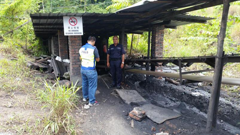 马来西亚一煤矿爆炸22/11/2014