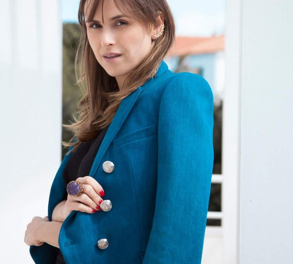"""Andreza Fazio, criadora da """"The Fashion Hunters"""""""