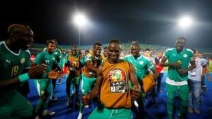 Senegal, com a estrela Sadio Mané, apurou-se para a final do CAN 2019.