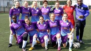 The senior section of the Paris University Club women's football team