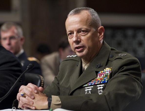 Tướng Mỹ John Allen đã được cử làm chỉ huy trưởng lực lượng ISAF tại Afghanistan từ tháng 07/2011.