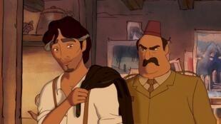 Image tirée du film d'animation «Le Prophète».