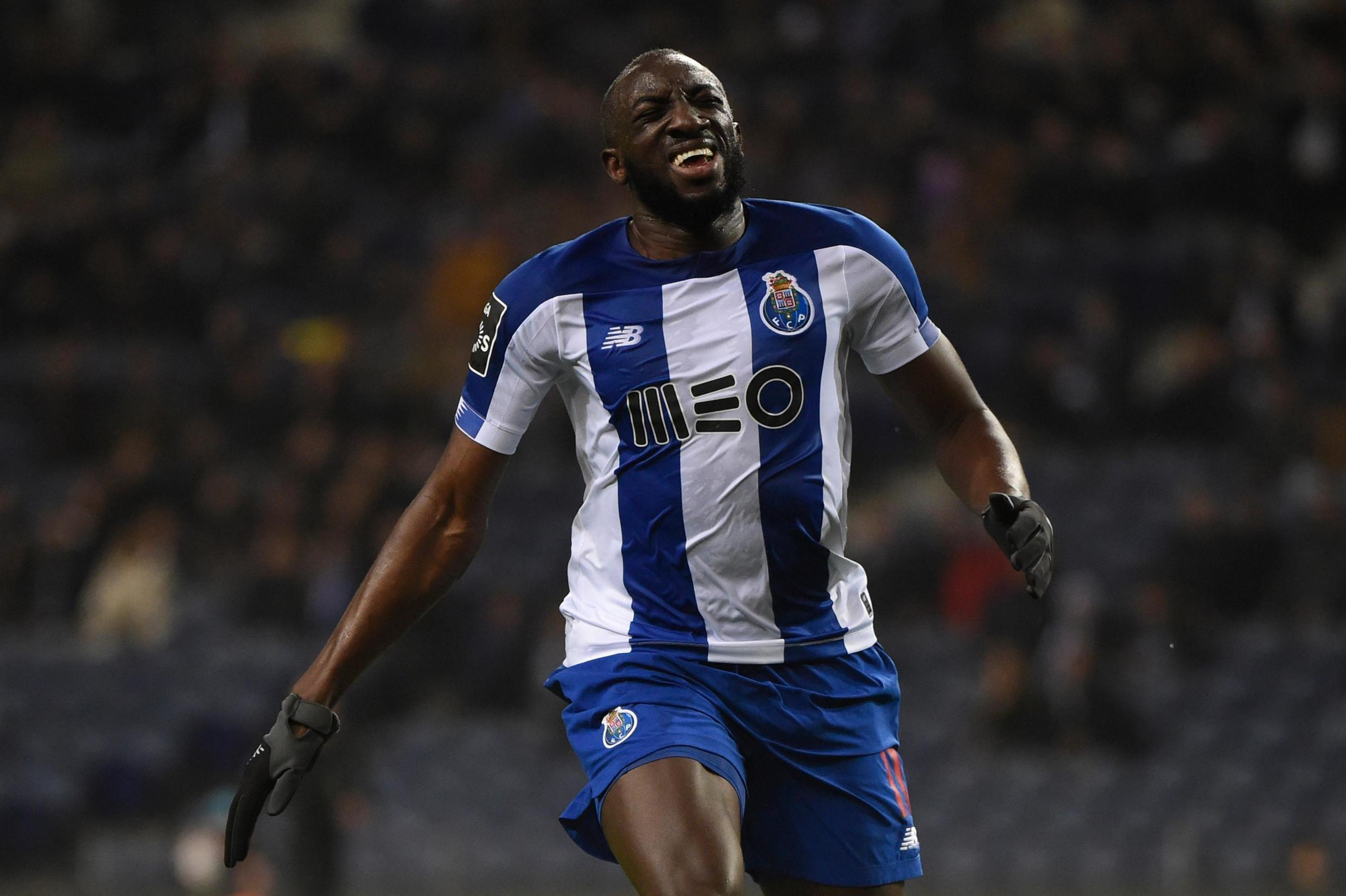 Moussa Margea scored Porto's opener in their 3-0 win over Marseille in the Champions League.