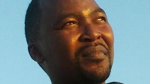 "South African novelist Mphuthumi Ntabeni, author of ""The Broken River Tent"""
