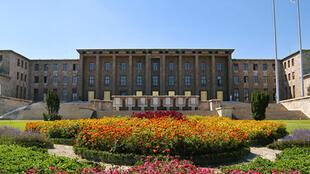 La Grande Assemblée nationale de Turquie (TBMM).
