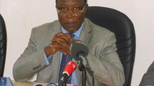 Chefe da missão da CEEAC, o embaixador Baudoin Hamuli