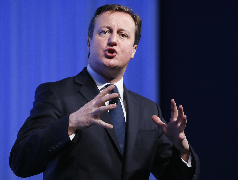 Дэвид Кэмерон на экономическом форуме в Давосе 24/01/2013